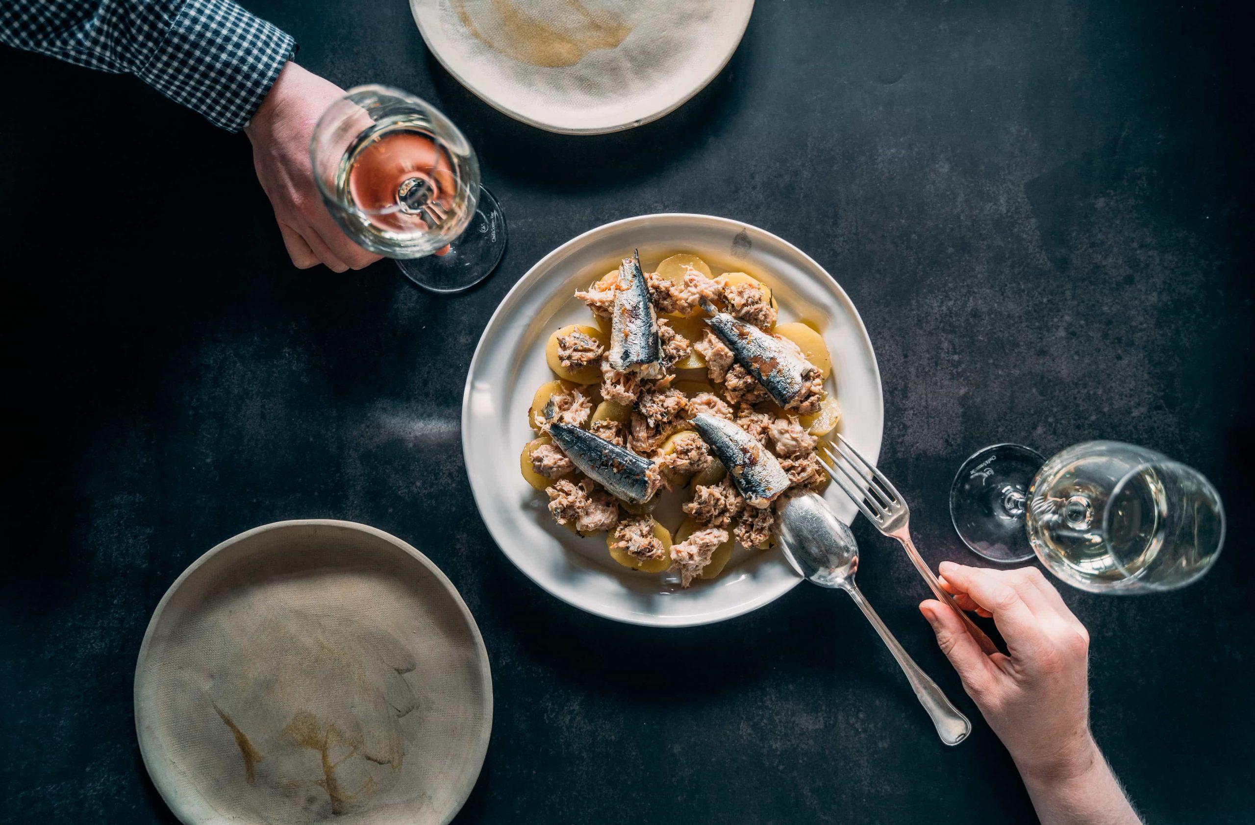 Photographe vidéaste Bordeaux : plat culinaire pour box Glouton Trotteur